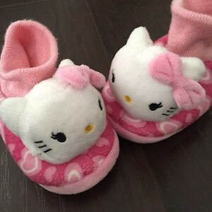 Toddler size 2-6 sandals, runners and slippers Kitchener / Waterloo Kitchener Area image 1