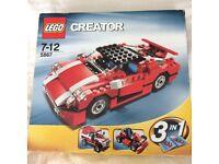 Lego Creator 5867 Super Speedster 3-in-1 cars