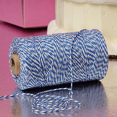 Blue & White Duo 4-ply 100% Cotton Baker's Twine *Your Choice of Length*](Baker's Twine)