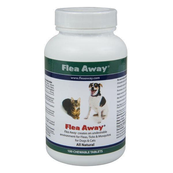 Flea Away, The natural flea, tick and mosquito repellent 100 Tablets
