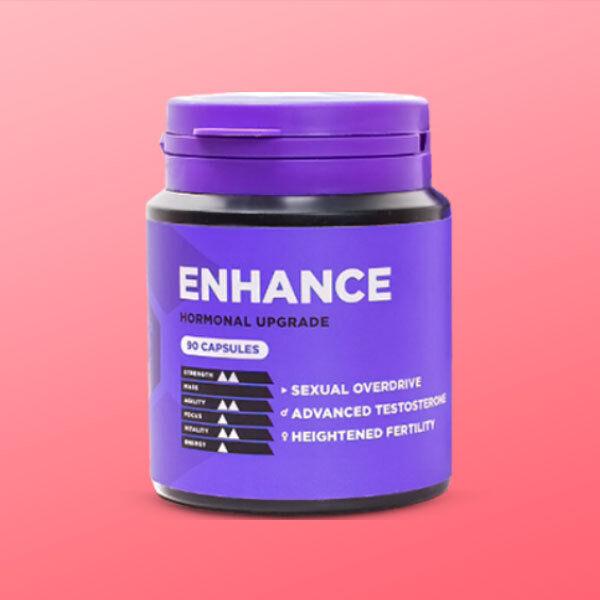 Enhance - Test Booster. Sexual Hormone Enhancement for Virility Vigor & Vitality