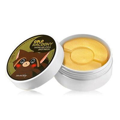 [Secret Key] SecretKey Gold Racoony Hydro Gel Eye & Spot Patch / Korea / (S셋)