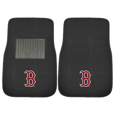 Boston Red Sox 2 Piece Embroidered Car Auto Floor Mats