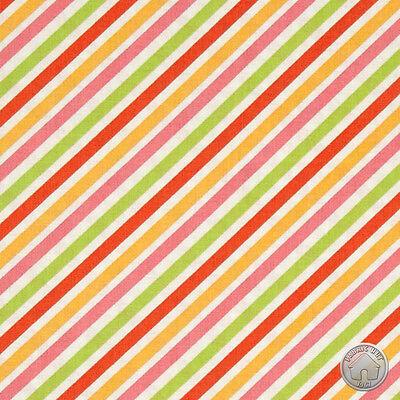 Riley Blake My Sunshine Stripe Rainbow Candy Quilting Cotton Fabric by the Yard](Rainbow Sunshine)