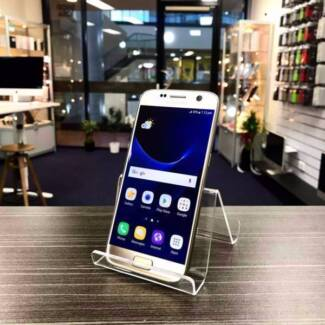 GREAT GALAXY S7 32GB BLACK SILVER GOLD 6 MONTHS WARRANTY CHARGER