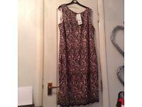 🚩🚩Brand New Size 18 Lace Effect Dress 🚩🚩