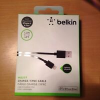 BELKIN LIGHTNING CABLES!!
