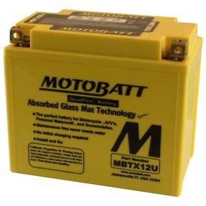 New MOTOBATT BATTERY for APRILIA Pegaso 650,Pegaso MBTX12U