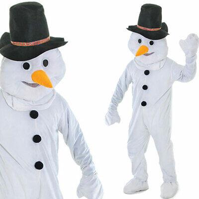 Erwachsene Deluxe Schneemann Kostüm Großer - Großer Mann Kostüm