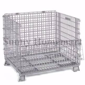 Brand New Stillage Basket Collapsible Wire Mesh Storage Container