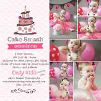 Cake Smash Sessions! Amy's Images Photography