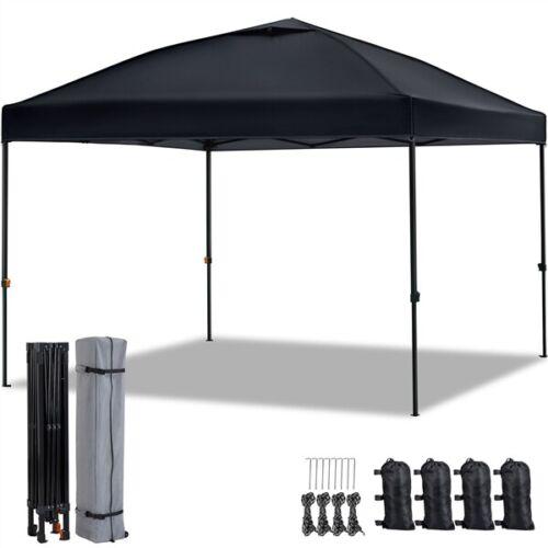 10x10ft Ez Pop Up Canopy Outdoor Folding Waterproof Commerci