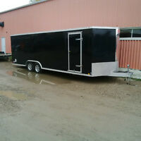8x24 Enclosed Car Hauler FOR RENT