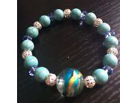 Bracelet (turquoise balls)