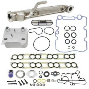 Neuf! Oil Cooler & EGR Cooler Kit Ford 6.0L F250 F350 F450 F550