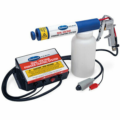 Eastwood Dual Voltage Powder Coating Gun 25 000 V With Handheld Switch Equipment