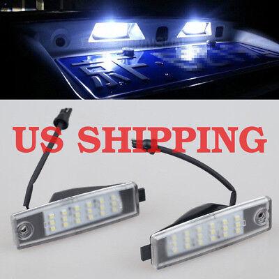 - 2x LED Number License Plate Lights for Scion XB - NCP31 2003~2006 1st generation