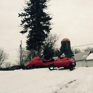 1992 583 formula plus skidoo, snows coming Peterborough Peterborough Area image 7