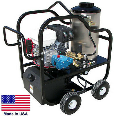 Pressure Washer Portable - Hot Water - 4 Gpm - 4000 Psi - 13 Hp Honda - Cat