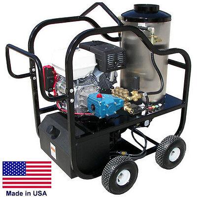 Pressure Washer Portable - Hot Water - 4 Gpm - 4000 Psi - 13 Hp Honda - Cat