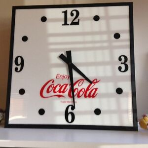 Coca cola clock  -  light Windsor Region Ontario image 1