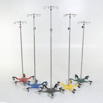New Mcm-273 Chrome Iv Pole 5-leg Multi-color Choice Spider Base W4 Hook Top