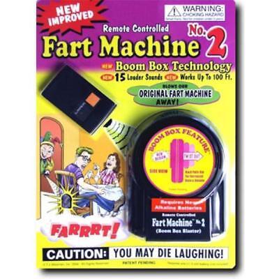 REMOTE CONTROL FART MACHINE farting sounds #2 new gag prank trick joke noises (Noise Machine Remote Control)