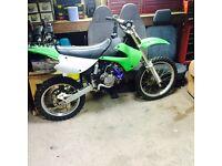 Kx 85 big wheel not Cr yz rm ktm