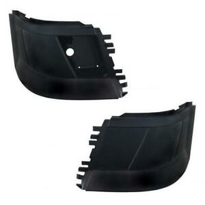 2004-2014 Volvo VNL Bumper Corners (with Fog Light opening)