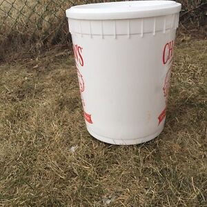Pails/Buckets for storage