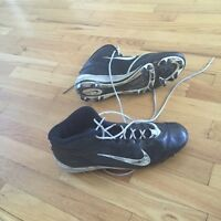 Football Cleats size 12 Nike