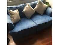2 Seater Sofa Bed. Ideal for young couple, kids, spare room.