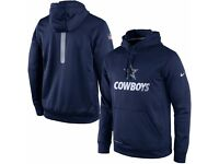 Nike Dallas Cowboys NFL Therma-FIT Hoodie in size M