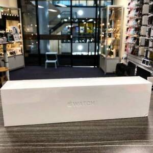 NEW Apple Watch Series 4 44mm Black Aluminum Case SEALED AU model