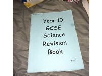 Year 10 Science Revision Booklet