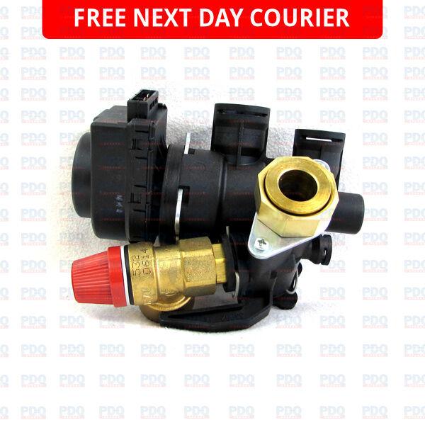 Worcester RD430I, RD532 & RD532I 3 Way Diverter Valve 87170100620 -GENUINE & NEW