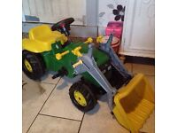 Rolly Toys John Deer Tractor