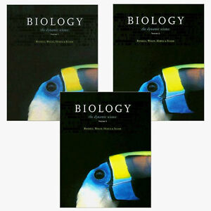BIOLOGY: The Dynamic Science (3 Volume Set, Units 1-7)