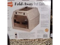 Fold-Away Pet Carrier