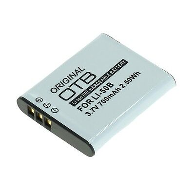 Akku für Olympus Li-50B / Pentax D-Li92 / Ricoh DB-100 LB-050  700mAh Li-Ion