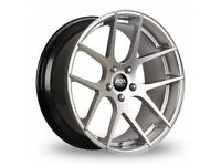 "18"" Staggered AVA Memphis on tyres for an E90, E91, E92, E93 BMW 3 Series, Vauxhall Insignia ETC"