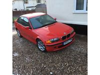Bmw e46 spares or repair