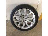 20 inch Range Rover Evoque alloy plus tyre