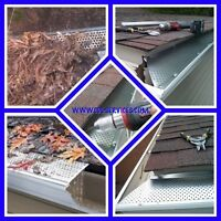 Leaf guard or Gutter Gaurd installation