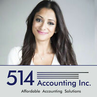 GST/QST, CORPORATE TAX FILING, BOOKKEEPING & MORE! 514 712-3851