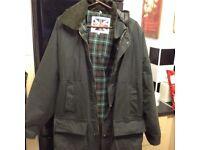 Wax jacket new size XXL with hood £35