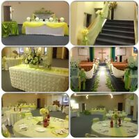 QUALITY, PRESSED CHAIR COVERS FOR RENT FOR ONLY 99 Cents