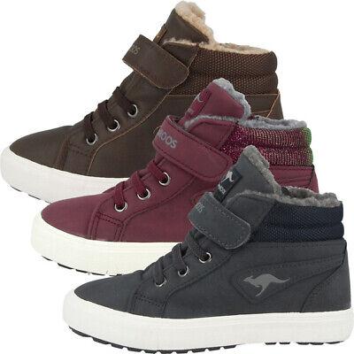 KangaROOS KaVu III Schuhe Kinder High Top Sneaker gefüttert Turnschuhe 01400