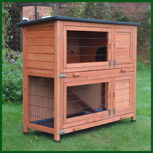 Large rabbit run pet supplies ebay for Cabane a lapin exterieur