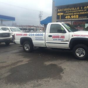 GMC Sierra 2500 Duramax with fisher plow for sale